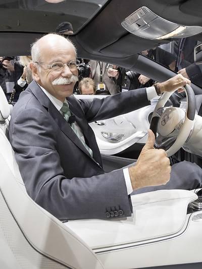 IAA Frankfurt 2013 Mercedes GLA Smart Fourjoy Dieter Zetsche Concept S-Class Coupe