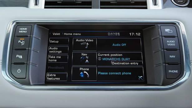 Range Rover Touchscreen