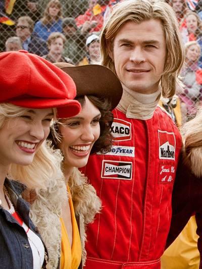 Rush - alles für den Sieg Niki Lauda James Hunt Daniel Brühl Nordschleife 1976 Formel eins