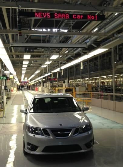 Saab 9-3 NEVS saabsunited.com