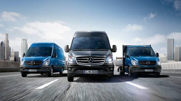 Mercedes Sprinter Palette