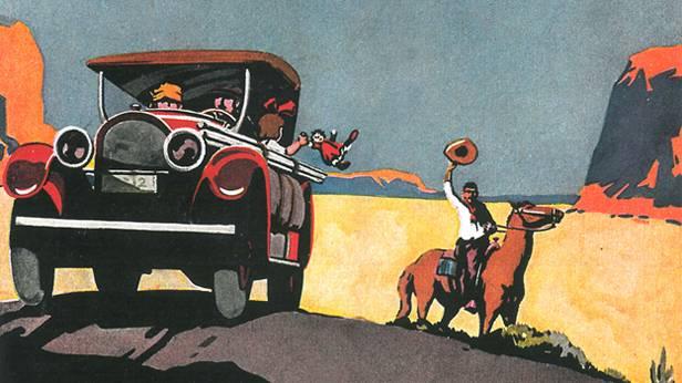 Kelly Tires Werbung 1924