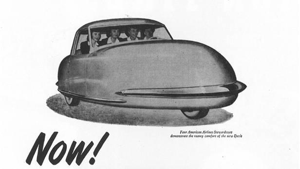 Davis Motorcar Werbung 1948