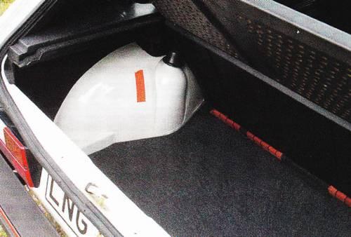 VW Golf 1 GTI 1984 kofferraum