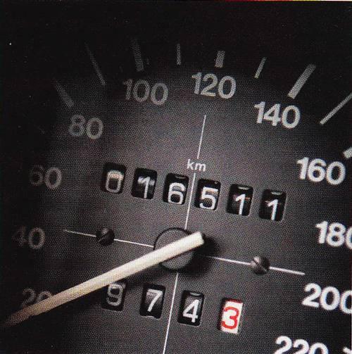 VW Golf 1 GTI 1984 tacho