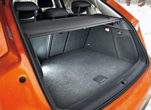 Audi Q3 2,0 TDI quattro S-tronic kofferraum