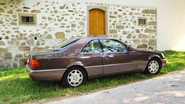 mercedes benz s500 cl 500 coupe v8 seite