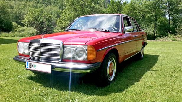mercedes benz w123 200 1980 vorne seite