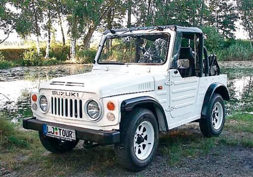suzuki lj80 weiß cabrio