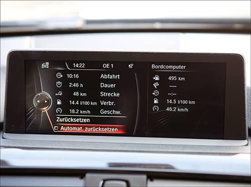 bmw active hybrid 3 display