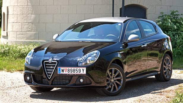 Alfa Romeo Giulietta 1,4 TB 120 Veloce vorne seite