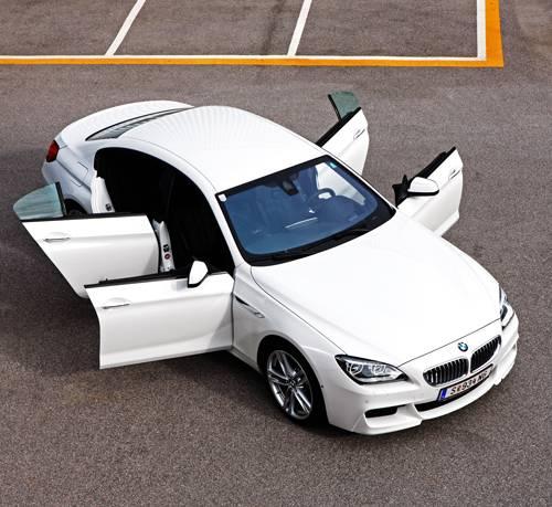 BMW 650i xDrive Gran Coupe aussen vollansicht