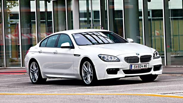 BMW 650i xDrive Gran Coupe front vorne seite
