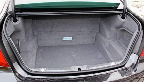 bmw 7 activehybrid kofferraum