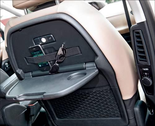 Citroen C4 Picasso e-HDi 115 ETG6 Exclusive silber innenraum ablage sitz