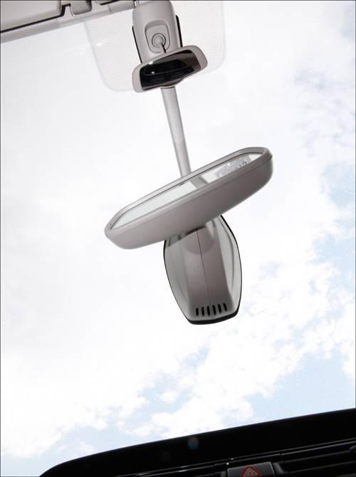 Citroen C4 Picasso e-HDi 115 ETG6 Exclusive silber rueckspiegel glasdach panoramadach