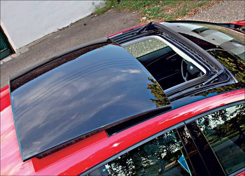 Seat Leon 2,0 TDI DSG Style rot glasdach panoramadach
