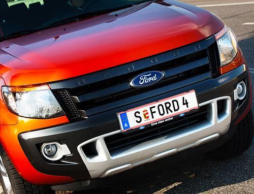 Ford Ranger 3,2 TDCi Wildtrak front vorne schnauze