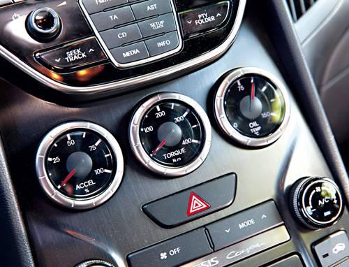Hyundai Genesis Coupé 3,8 V6 GDI regler