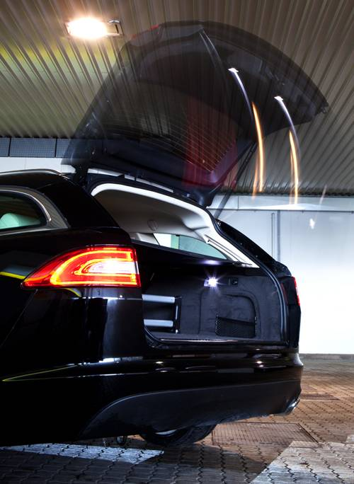 Jaguar XF 2,2 D Sportbrake heckklappe