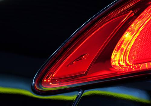 Jaguar XF 2,2 D Sportbrake heckleuchte detail