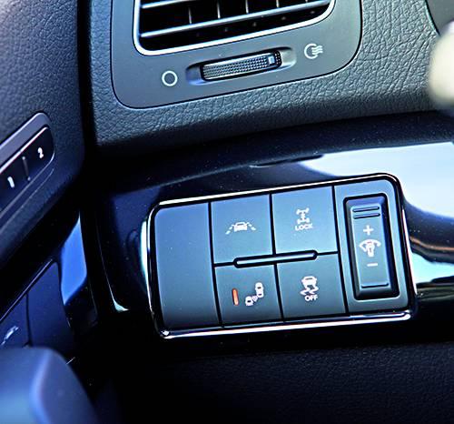 KIA Sorento 2,2 CRDi 4WD Active Pro schalter funktionen