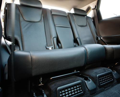 Lexus RX 450h weiß rueckbank leder