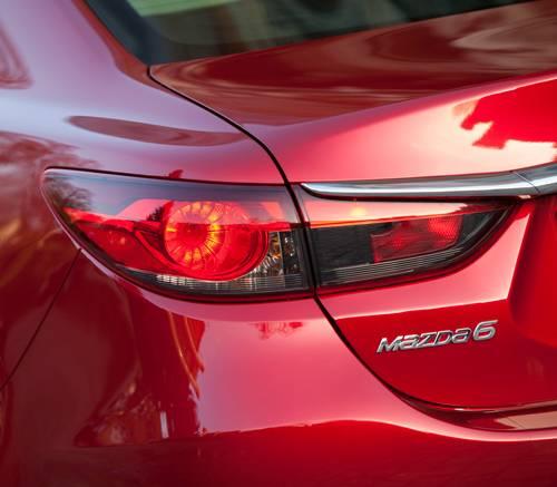 Mazda 6 2,0 165PS Revolution hecklicht rueckleuchte