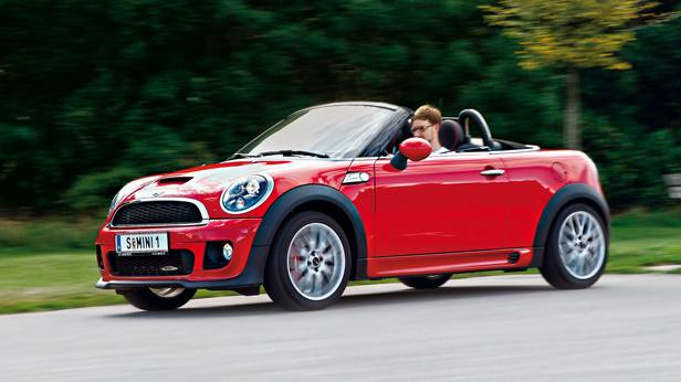 fahrbericht mini john cooper works roadster im test. Black Bedroom Furniture Sets. Home Design Ideas