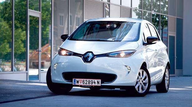 Renault Zoe ZEN weiß front vorne