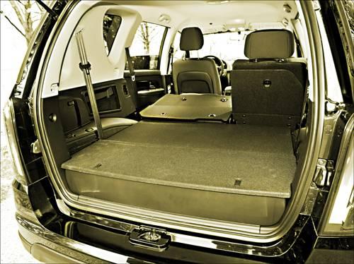 ssangyong Rexton W 2,0 Xdi 4WD Plus kofferraum