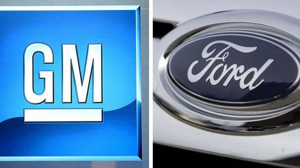 Logo von GM und Ford