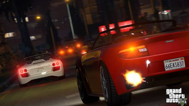 Screenshot des Actionspiels GTA-V