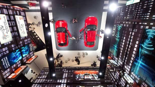 Der Audi-Stand bei der IAA Frankfurt