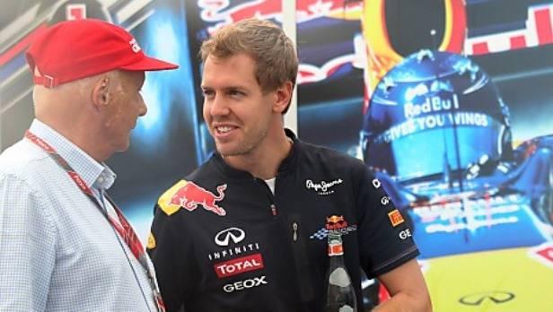 Vettels WM-Titel ist schon beinahe fixiert - passieren kann aber immer noch was, so Lauda.