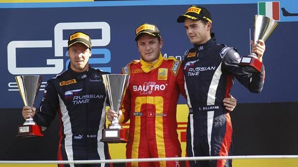 Siegerehrung GP2-Serie