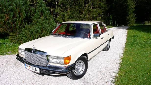 Zum Verkauf: ein Mercedes Benz W116 350 SE