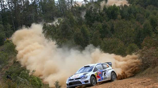 Sebastien Ogier bei der Australien-Rallye