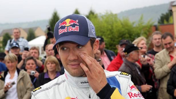 Sebastien Ogier bei der Rallye-WM in Deutschland