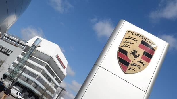 Die Zentrale von Porsche in Zuffenhausen