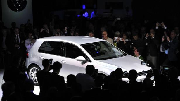 Der VW Golf 7 wird vorgestellt