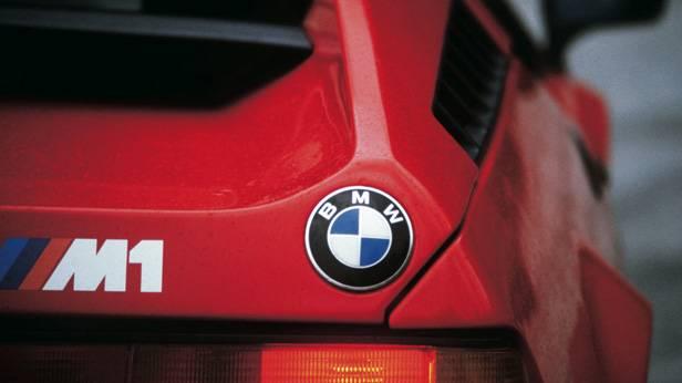 Heckansicht des BMW M1