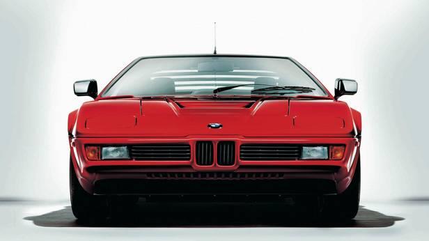 Der BMW M1 front