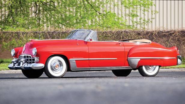 Das Cadillac Series 62 Convertible Coupé 1948, seitlich