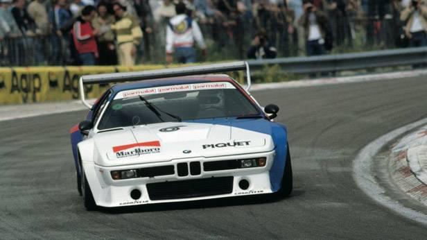 BMW Procar-M1 auf der Rennstrecke