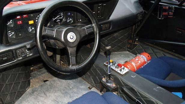 Der BMW M1 innen