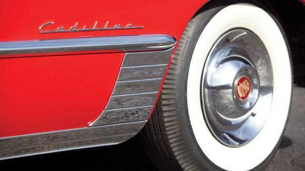 Das Cadillac Series 62 Convertible Coupé 1948, Reifen