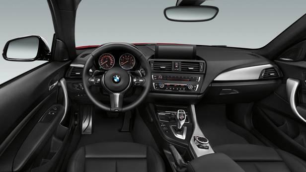 Das BMW 2er Coupe innen