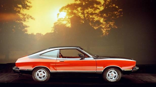 Der Ford Mustang II Mach I, aus dem Jahr 1976