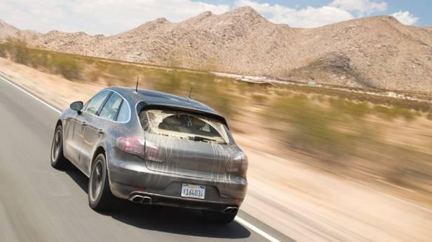 Der Porsche Macan von hinten